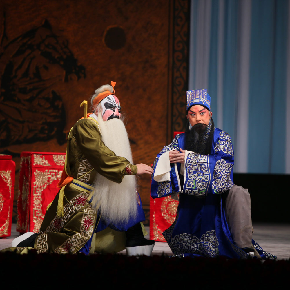 China National Peking Opera Company in <I>The General & The Prime Minister</I>.<br />© China National Peking Opera Company. (Click image for larger version)