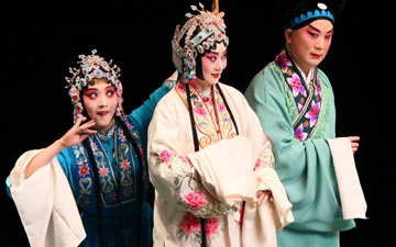China National Peking Opera Company in The Legend of the White Snake.© China National Peking Opera Company. (Click image for larger version