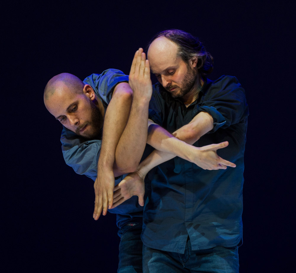 Patrick Williams Seebacher and Sidi Larbi Cherkaoui in Fractus V.© Foteini Christofilopoulou. (Click image for larger version)