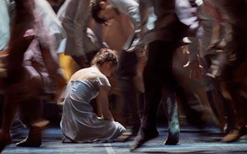 Alina Cojocaru in Akram Khan's Giselle.© Laurent Liotardo. (Click image for larger version)