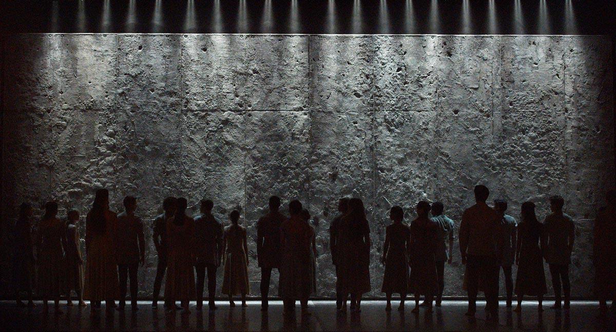 English National Ballet in Akram Khan's <I>Giselle</I>.<br />© Laurent Liotardo. (Click image for larger version)
