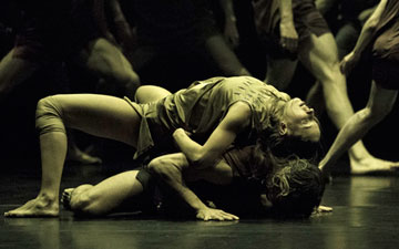Sydney Dance Company in Wildebeest.© Pedro Greig. (Click image for larger version)