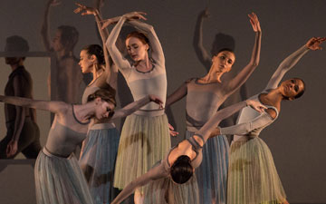 American Ballet Theatre in Jessica Lang's Her Notes.© Rosalie O'Connor. (Click image for larger version)