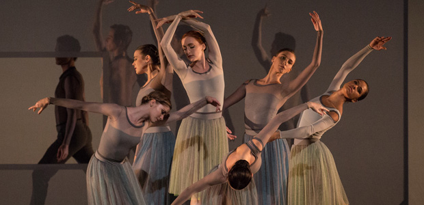 American Ballet Theatre in Jessica Lang's <I>Her Notes</I>.<br />© Rosalie O'Connor. (Click image for larger version)