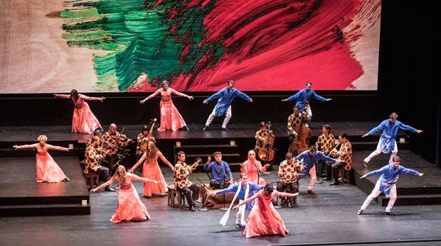 Mark Morris Dance Group in <I>Layla and Majnun</I>.<br />© Susana Millman. (Click image for larger version)