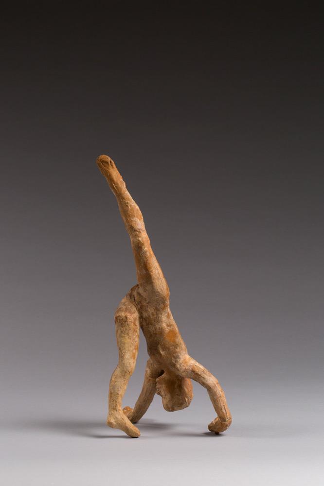 Dance Movement C. Auguste Rodin, 1911. Terracotta.© Musée Rodin, Paris, France. (Click image for larger version)