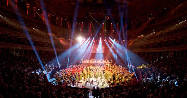 The Finale of Dance Proms 2016.<br />© Elliott Franks. (Click image for larger version)