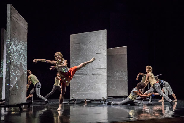 Rambert in Malgorzata Dzierzon's <I>Flight</I>.<br />© Johan Persson. (Click image for larger version