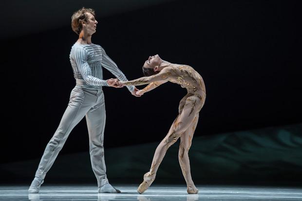Olga Smirnova and Semyon Chudin in <I>La Belle</I>.<br />© Alice Blangero. (Click image for larger version)