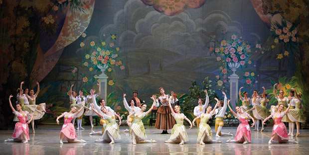 Russian State Ballet of Siberia in <I>La Fille mal gardée</I>.<br />© Russian State Ballet of Siberia. (Click image for larger version)
