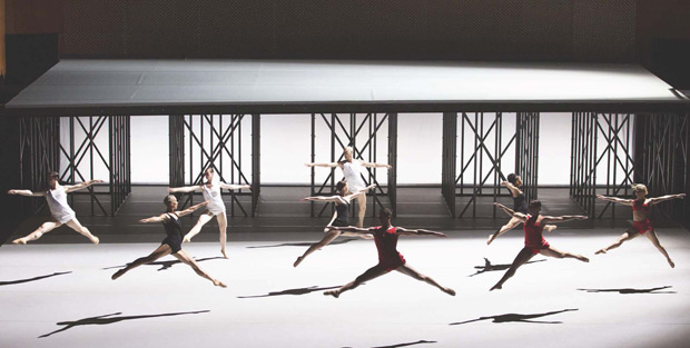 Lucinda Childs Dance Company in <I>Available Light</I>.<br />© Craig T Matthew. (Click image for larger version)