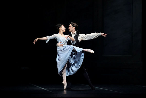 Frances Chung and Joseph Walsh in Scarlett's Frankenstein.© Erik Tomasson.