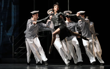 Lorena Feijoo in Possokhov's Optimistic Tragedy.© Erik Tomasson. (Click image for larger version)