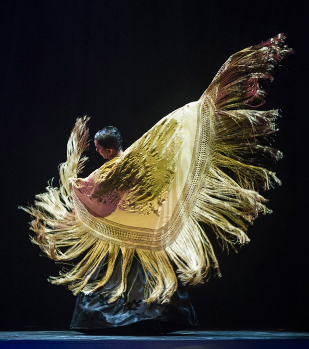 Eva Yerbabuena in <I>Apariencias</I>.<br />© Foteini Christofilopoulou. (Click image for larger version)