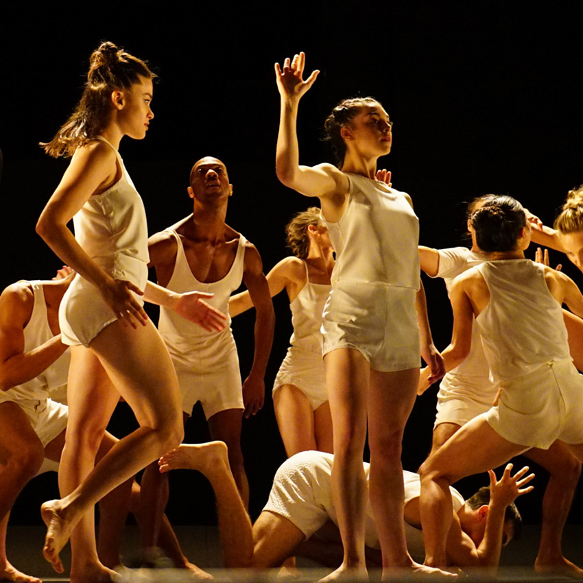 Batsheva Dance Company in Last Work.© Gadi Dagon. (Click image for larger version)