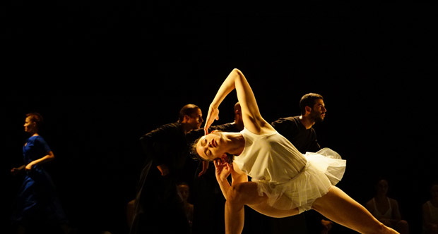 Batsheva Dance Company in <I>Last Work</I>.<br />© Gadi Dagon. (Click image for larger version)