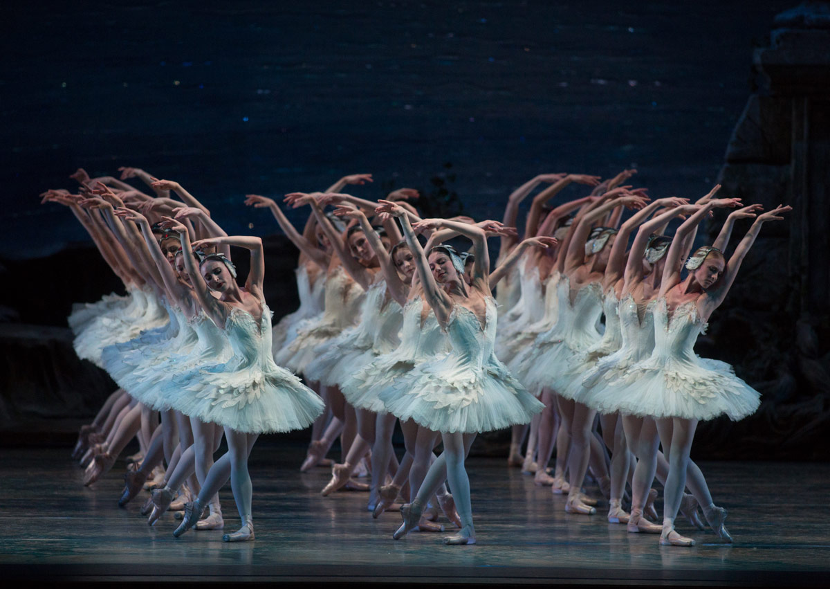American Ballet Theatre in Swan Lake.© Rosalie O'Connor. (Click image for larger version)