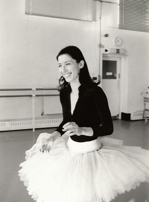 From 2005: Mara Galeazzi in the studio, preparing for her Italian Mara in Motion gala.© Yuko Miyazawa.
