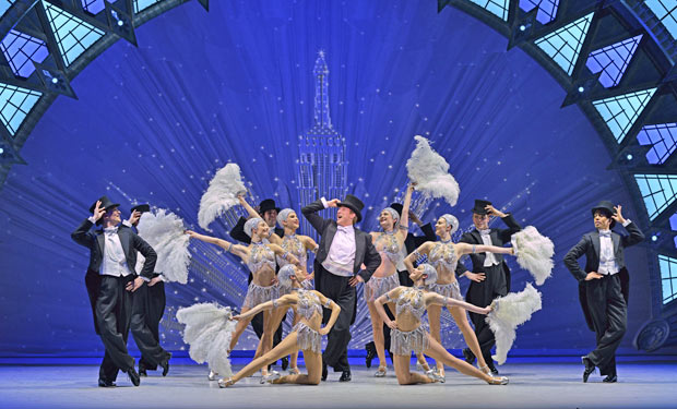Haydn Oakley in <I>An American in Paris</I>.<br />© Dave Morgan. (Click image for larger version)