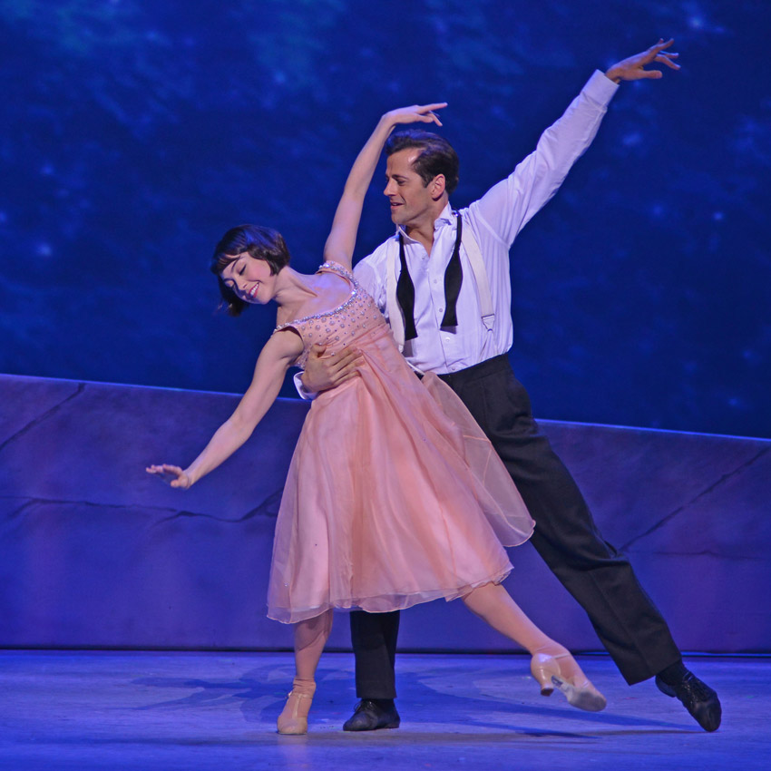 Leanne Cope and Robert Fairchild in An American in Paris.© Dave Morgan. (Click image for larger version)