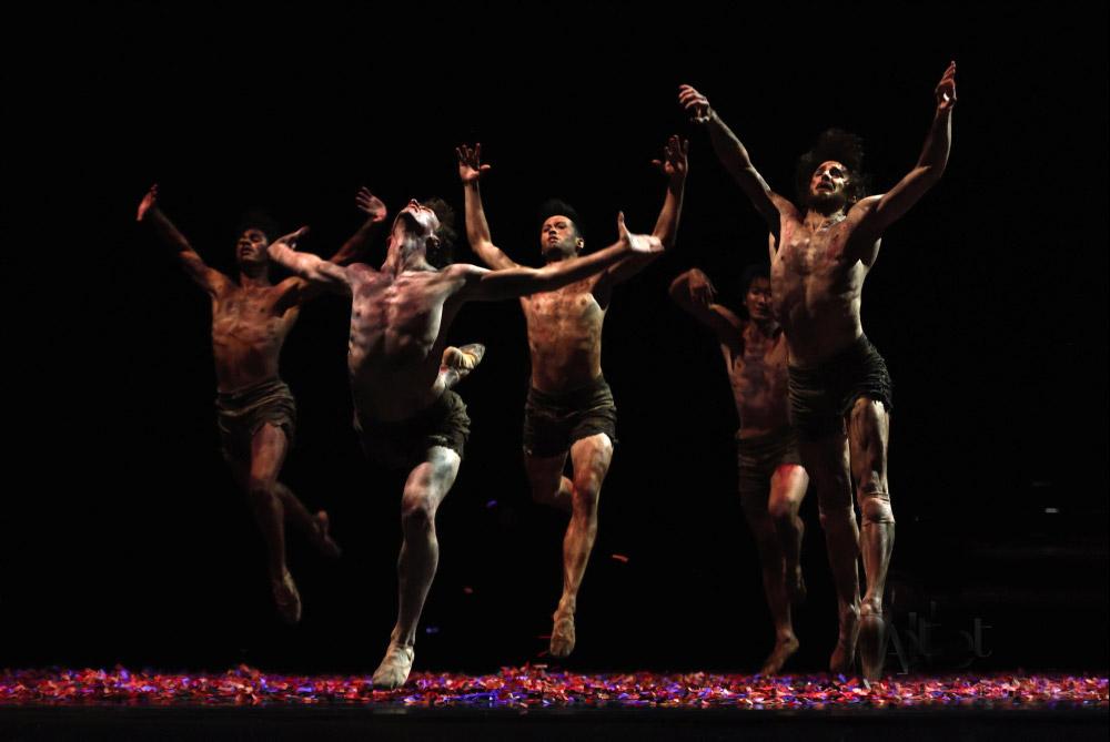 San Francisco Ballet in Pita's <I>Salome</I>.<br />© Erik Tomasson. (Click image for larger version)