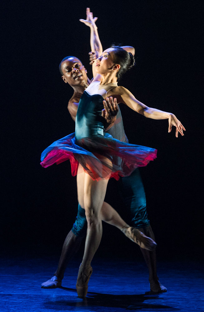 Sayaka Ichikawa and Damien Johnson in <I>House of Dreams</I> by Michael Corder.<br />© Foteini Christofilopoulou. (Click image for larger version)