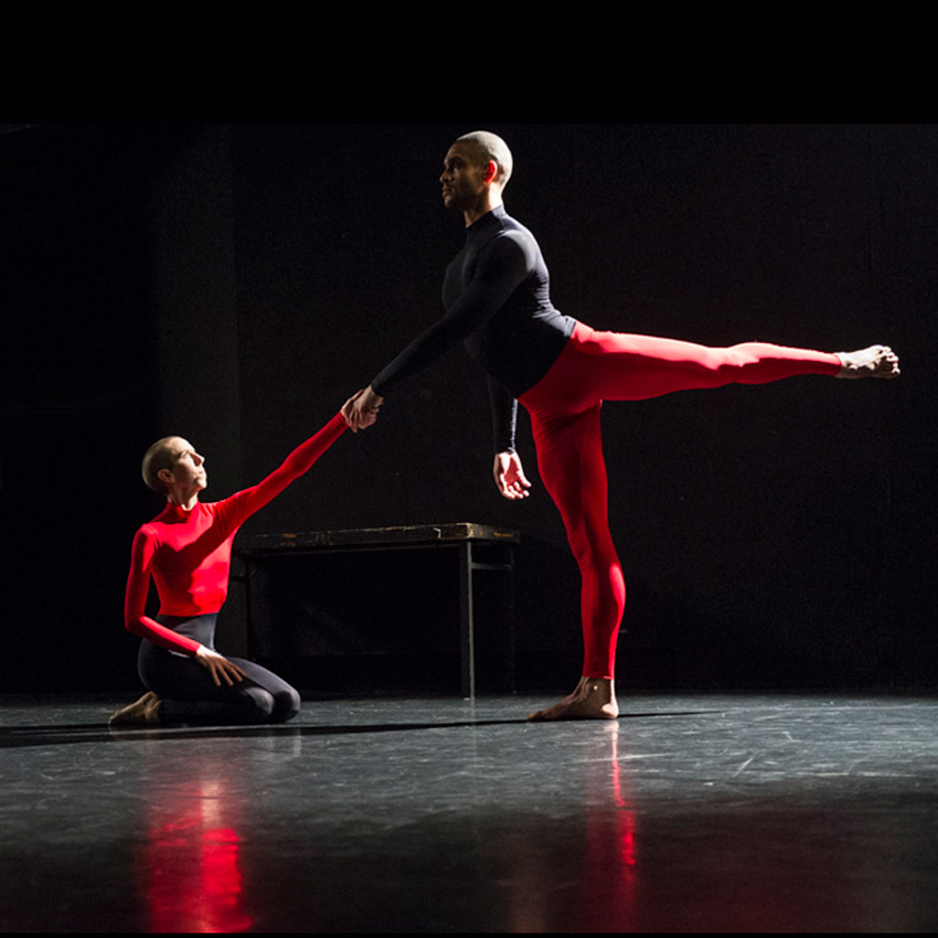 Julie Cunningham and Harry Alexander in To Be Me.© Foteini Christofilopoulou. (Click image for larger version)