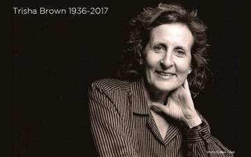 Trisha Brown.© Marc Ginot and courtesy Trisha Brown Company. (Click image for larger version)