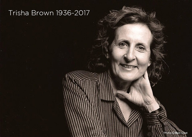"Trisha Brown.<br />© Marc Ginot and courtesy <a href=""http://www.trishabrowncompany.org"">Trisha Brown Company</a>. (Click image for larger version)"