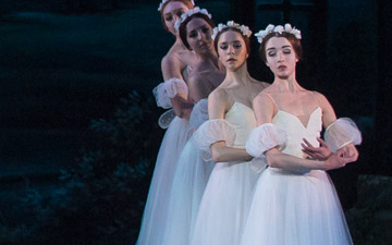 Washington Ballet in Giselle.© Theo Kossenas Media 4 Artists. (Click image for larger version)