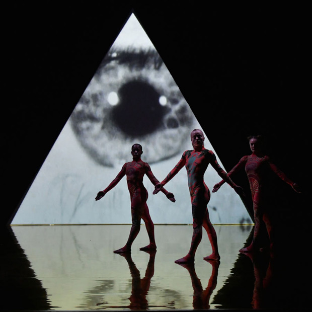 Rosie Kay Dance Company in <I>MK Ultra</I>.<br />© Brian Slater. (Click image for larger version)