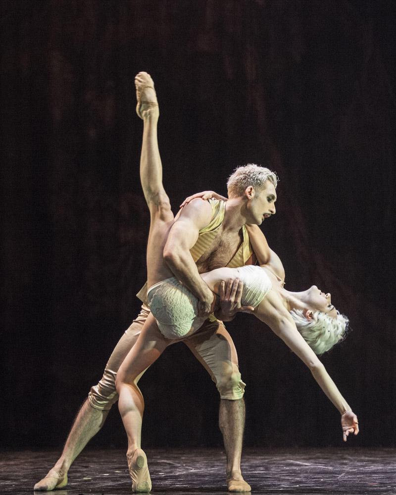 Giuliano Contadini with Dreda Blow as Bellino in <I>Casanova</I>.<br />© Caroline Holden. (Click image for larger version)