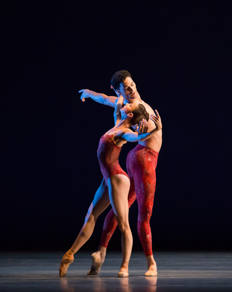 April Daly and Fabrice Calmels in Bells.© Cheryl Mann. (Click image for larger version)