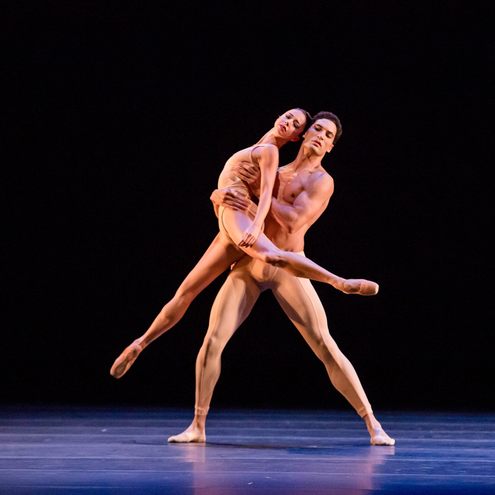 April Daly and Fabrice Calmels in Fool's Paradise.© Cheryl Mann. (Click image for larger version)
