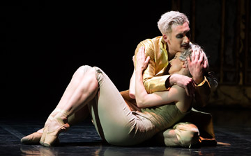 Giuliano Contadini with Hannah Bateman as Henriette in Casanova.© Emma Kauldhar. (Click image for larger version)