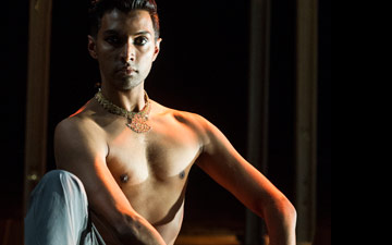 Sooraj Subramaniam in Material Man Redux.© Foteini Christofilopoulou. (Click image for larger version)