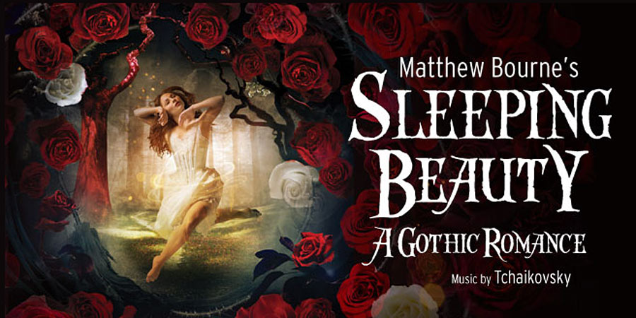 Poster image for Matthew Bourne's <I>Sleeping Beauty</I>.<br />© Image by Hugo Glendinning. (Click image for larger version)