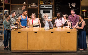 Cast Les 7 Doigts in Cuisine & Confessions.© Ian Douglas. (Click image for larger version)