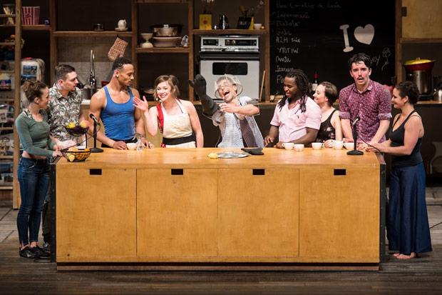 Cast Les 7 Doigts in <I>Cuisine & Confessions</I>.<br />© Ian Douglas. (Click image for larger version)