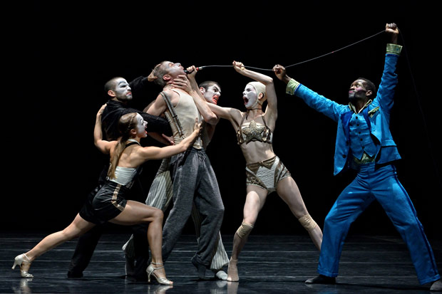 Crystal Pite and Jonathon Young's <I>Betroffenheit</I>.<br />© Michael Slobodian. (Click image for larger version)