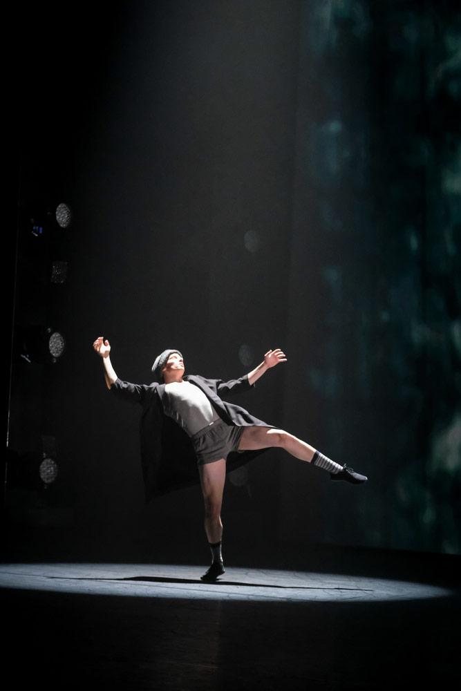 BBC Young Dancer Award 2017: John-William Watson.<br />© BBC/Tristram Kenton. (Click image for larger version)