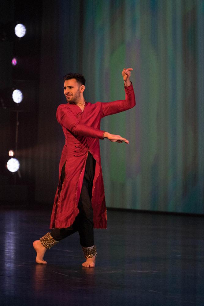 BBC Young Dancer Award 2017: Shyam Dattani.<br />© BBC/Tristram Kenton. (Click image for larger version)