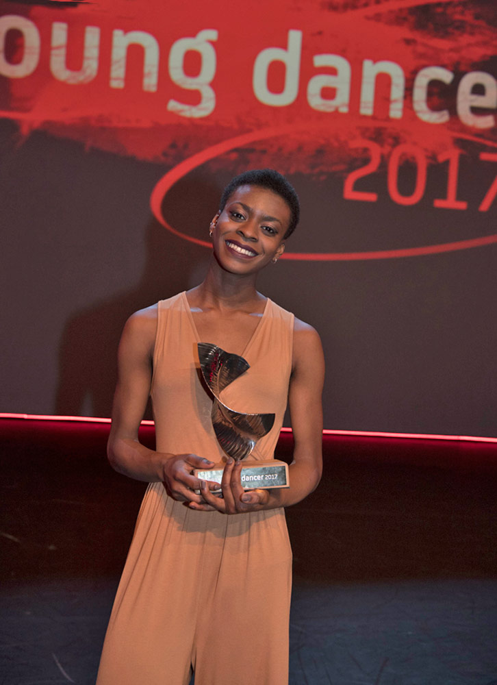 BBC Young Dancer Award 2017: winner Nafisah Baba.© BBC/Tristram Kenton. (Click image for larger version)
