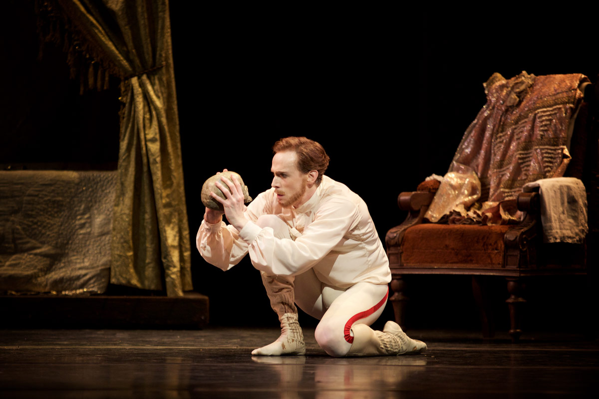 Edward Watson in Mayerling.© Alice Pennefather, courtesy the Royal Opera House. (Click image for larger version)