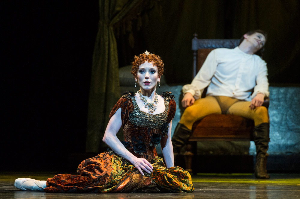 Sarah Lamb in Mayerling.© Foteini Christofilopoulou, courtesy the Royal Opera House. (Click image for larger version)