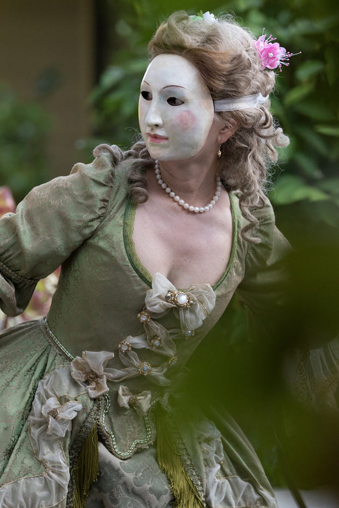 Catherine Turocy, director New York Baroque Dance Company.© Mark Gillespie. (Click image for larger version)