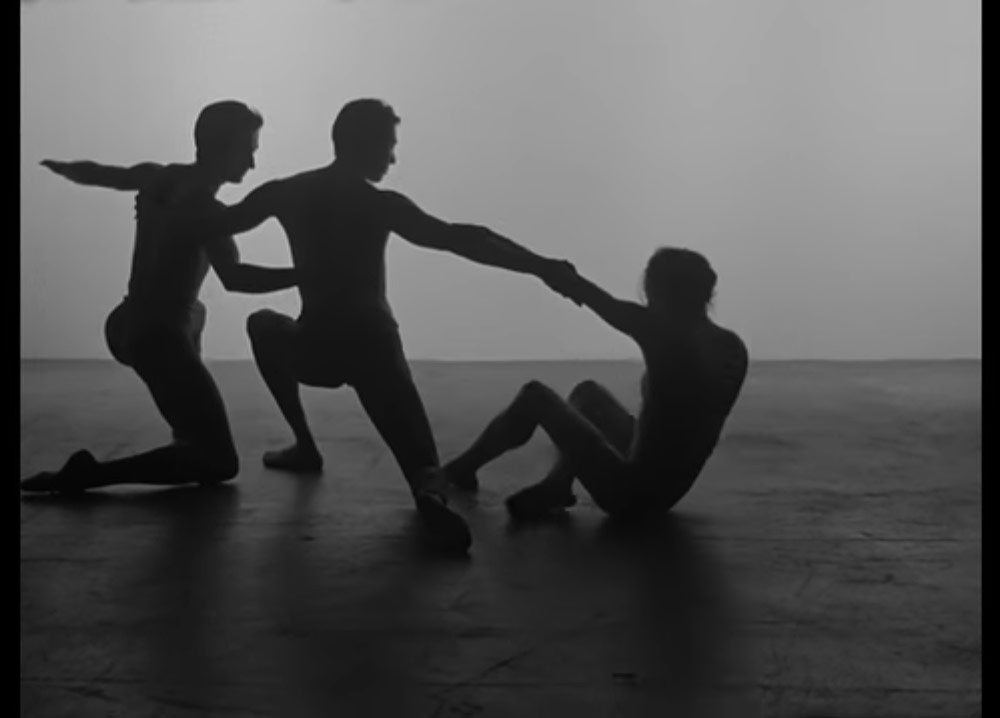 "Still from NYCB's <a href=""https://www.youtube.com/watch?v=uj3KNUtE0RU"">promotional video for Justin Peck's <I>The Decalogue</I></a>.<br />© NYCB. (Click image for larger version)"