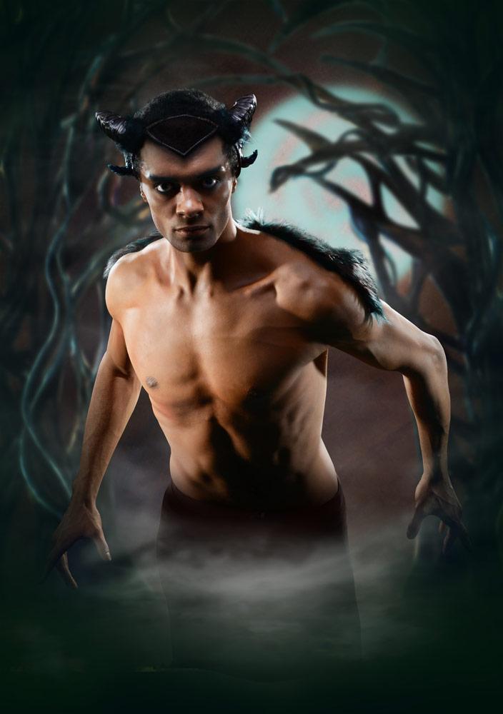Brandon Lawrence in <I>Arcadia</I> poster image.<br />© Richard Battye, BRB. (Click image for larger version)