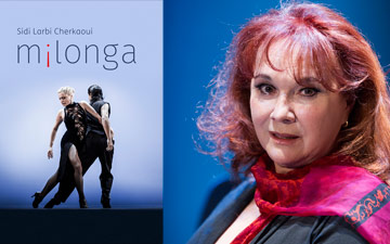Nelida Rodriguez de Aure and m¡longa poster image.© Tristram Kenton. (Click image for larger version)