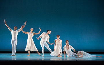 Washington Ballet in Seven Sonatas.© Theo Kossenas Media 4 Artists. (Click image for larger version)